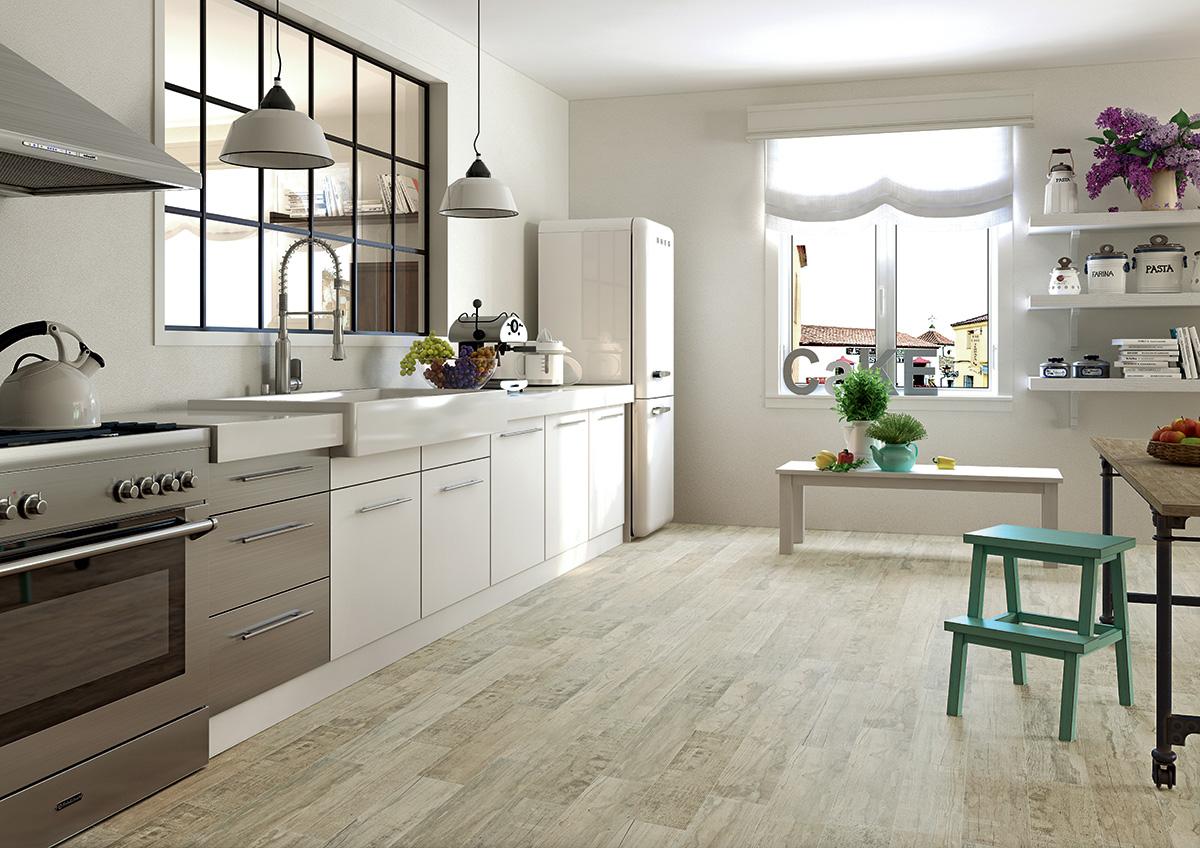 Плитка на кухне: керамика или керамогранит?