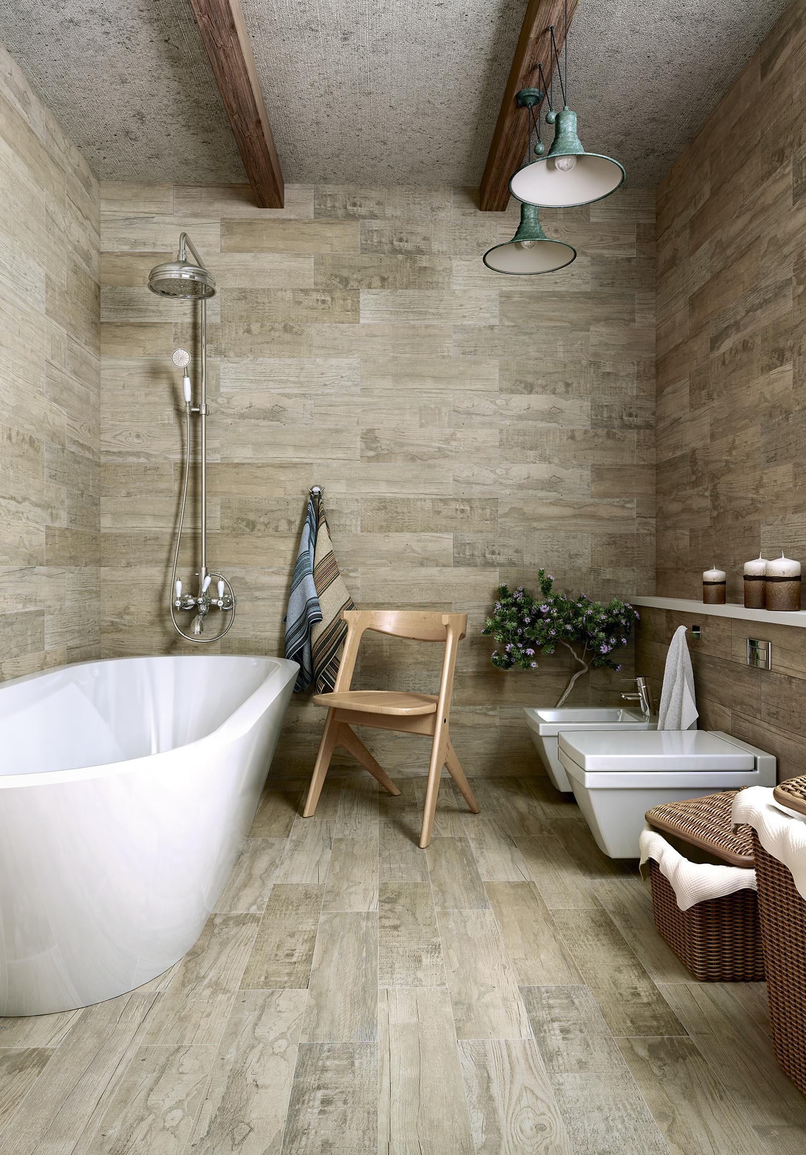 Плитка Zeus в ванной комнате
